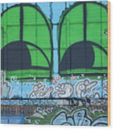 Graffiti #5781 Wood Print