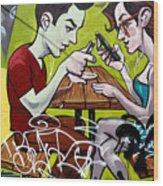 Graffiti 7 Wood Print