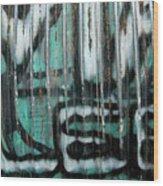 Graffiti Abstract 2 Wood Print