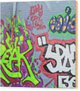 Graffiti Art 05102017a Wood Print