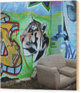 Graffiti Art Albuquerque New Mexico 7 Wood Print