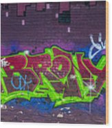Graffiti Art Nyc 2 Wood Print