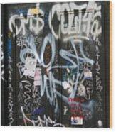 Graffiti Greenwich Village Wood Print