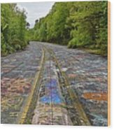 Graffiti Highway, Facing North Wood Print