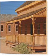 Grafton Ghost Town Wood Print