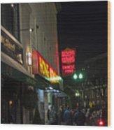 Grafton Street Pub And The Hong Kong In Harvard Square Cambridge Ma Wood Print