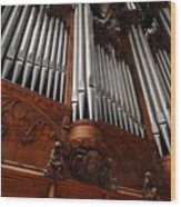 Graham Chapel Pipes Wood Print