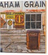 Graham Grain Company Wood Print