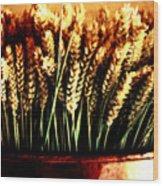 Grain In Copper Pot Wood Print