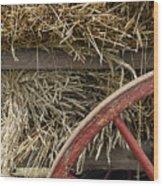 Grain Wagon Wood Print