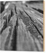 Grains Of Wood Wood Print