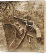 Grammas Gun 2 Wood Print
