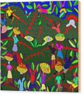 Gran Bwa Wood Print