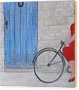 Gran In Provence Wood Print
