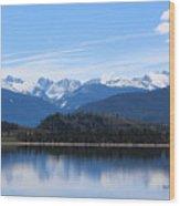 Granby Lake Wood Print