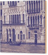 Grand Canal 2. Venice Italy Wood Print