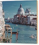 Grand Canal Of Venice Wood Print