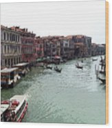 Grand Canal Venice Italy Wood Print