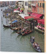 Grand Canal, Venice, Italy Wood Print