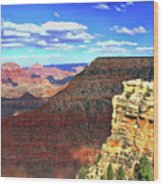Grand Canyon # 22 - Mather Point Overlook Wood Print