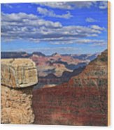 Grand Canyon # 29 - Mather Point Overlook Wood Print