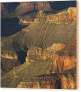Grand Canyon Arizona Light And Shadow 1 Wood Print