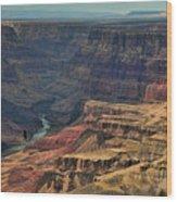 Grand Canyon Colorado River II Wood Print