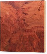 Grand Canyon Depth Wood Print