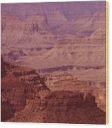 Grand Canyon Distances Wood Print