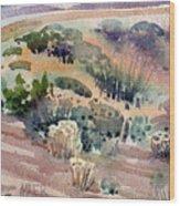 Grand Canyon Flora Study 77 Wood Print