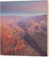 Grand Canyon From Lipan Point Wood Print