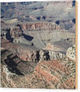 Grand Canyon Greatness Wood Print