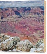 Grand Canyon In Arizona Wood Print
