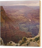 Grand Canyon In The Spring Wood Print