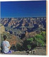 Grand Canyon Meditation Wood Print