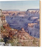 Grand Canyon Morning Wood Print
