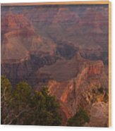 Grand Canyon Morning Light Wood Print