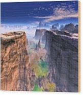 Grand Canyon Mountain . Wood Print