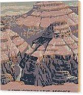 Grand Canyon National Park Wood Print