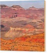 Grand Canyon National Park Summer Wood Print