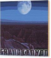 Grand Canyon Nights Wood Print