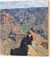 Grand Canyon Of The Pacific Wood Print