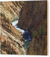 Grand Canyon Of The Yellowstone 1 Wood Print