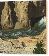 Grand Canyon Of The Yellowstone 3 Wood Print