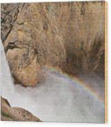 Grand Canyon Of The Yellowstone II Wood Print