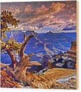 Grand Canyon Pine Wood Print