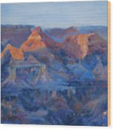 Grand Canyon Study Wood Print by Billie Colson