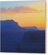 Grand Canyon Sunrise At Toroweap Wood Print