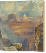 Grand Canyon Wood Print by Thomas Moran