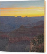 Grand Canyon Twilght Wood Print